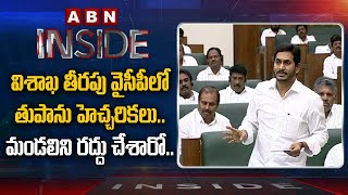 YSRCP Leaders Fear On CM YS Jagan Decisions- Vishaka- Insi..