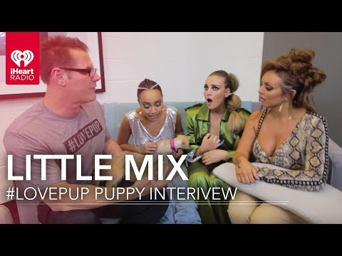 Little Mix Puppies Interview | iHeartRadio Music Festival