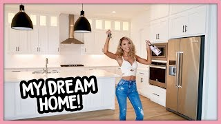 EMPTY HOUSE TOUR | My First Home! (Modern Farmhouse Style)