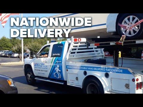 Wheelchair Vans on the Road Again with AMS Vans