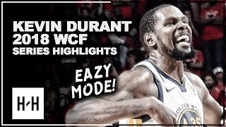 Kevin Durant Full Series Highlights vs Rockets | 2018 Playoffs West Finals