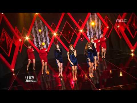 Sistar - Alone, 씨스타 - 나 혼자, Music Core 20120421
