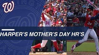 Harper's Mother's Day home runs