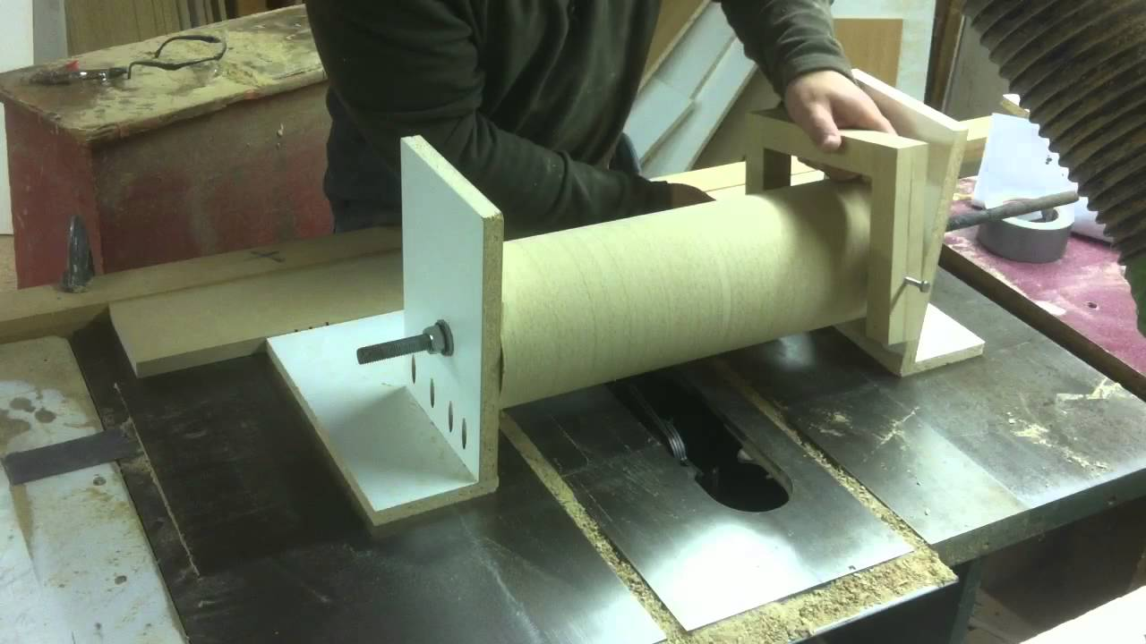 Wooden Tool Man S Diy Drum Sander Making The Drum 3 Tips
