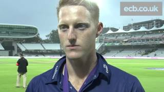 Durham's Man of the Match Ben Stokes hails 'brilliant' Lord's cup final victory