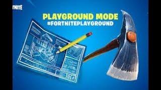 Playground play v2- fortnite