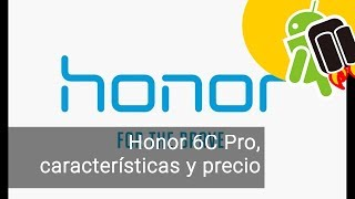 Video Honor 6C Pro NAe-UOvf_XY