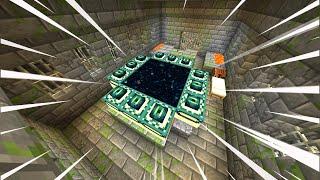 Beating Minecraft 1.16 In Under 1 Hour