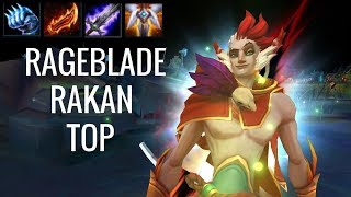 HOW TO CARRY FROM TOP LANE?! - Rageblade Bruiser Rakan Top - Off Meta Monday - League of Legends