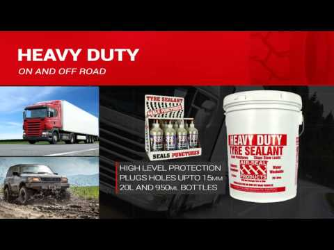 Air Seal Products - Tyre Sealants