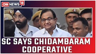 Chidambaram Gets Interim Bail In ED Case Till Monday..