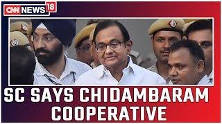Chidambaram Gets Interim Bail In ED Case Till Monday..
