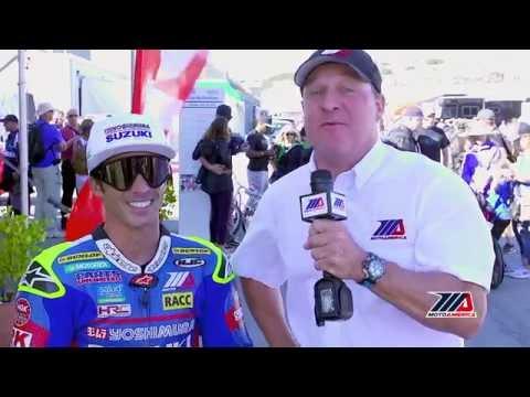 Toni Elias, MotoAmerica Superbike Race 2 Mazda Raceway Laguna Seca
