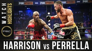 Harrison vs Perrella HIGHLIGHTS: PBC on FOX - April 17, 2021