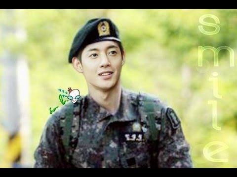 Kim Hyun-joong Looks Manly in Military Uniform