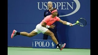 Rafael Nadal - 'Running Forehand' The Most lethal shot ever (HD)