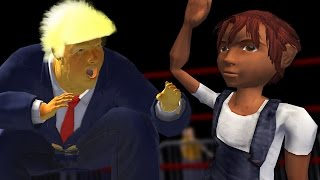 TRUMP FIGHTS SMALL CHILDREN - Mr. President: Rump Rumble
