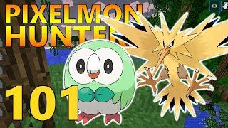 [101] Shiny Rowlet! Shiny Hunting! (Pixelmon Reforged Gameplay S2)