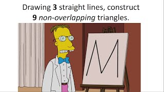 HARD Geometry Puzzle In The Simpsons