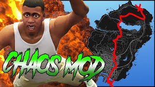 Going across the map with GTA 5 Chaos Mod was a mistake..