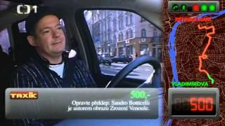 Taxík: Největší DEBIL v historii  taxíku