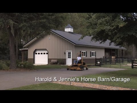 Harold & Jennie's Horse Barn/Garage