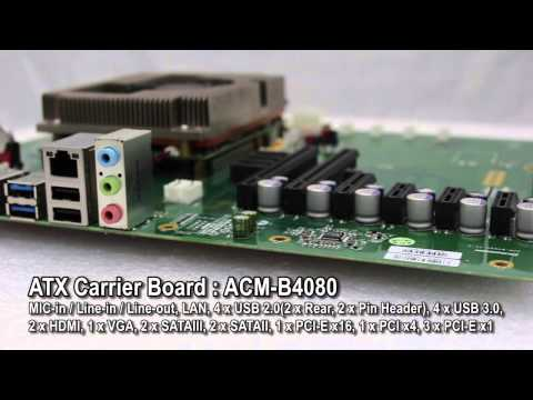 Acrosser COM Express Type 6 Module: ACM-B6360 featuring Intel® Core ™ i7 Processor and QM77 Platform