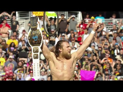 Daniel Bryan remporte le titre Intercontinental à WrestleMania 31