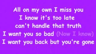 Naughty Boy - Should've Been Me (Lyrics Video)