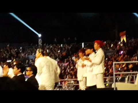 [FANCAM] BTS MAMA 2014 - BTS REACTION TO INFINITE