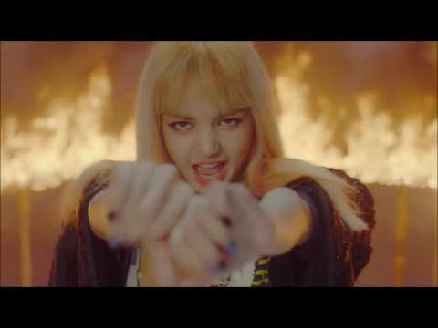 BLACKPINK PLAYING WITH FIRE but everytime they say ''bul'' it gets faster