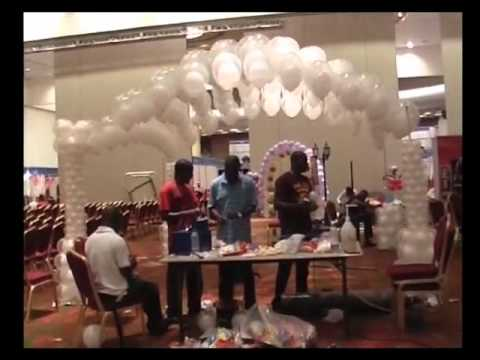 Balloon Decorating: Double Bubble Balloon Canopy