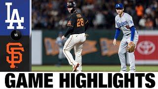 Dodgers vs. Giants Game Highlights (9/4/21) | MLB Highlights