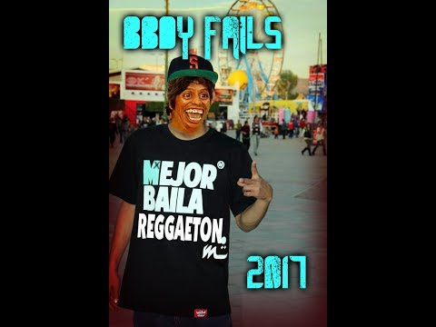 BBOY FAILS, FIGHTS AND FUNNY MOMENTS 2017.