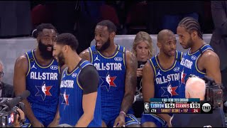 2020 NBA All-Star Game   Final Minutes of Game