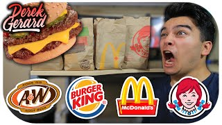 WHO HAS THE BEST CHEESEBURGER?! | Fast Food Olympics