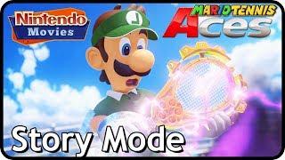 Mario Tennis Aces - Complete Story Mode (100% Walkthrough)