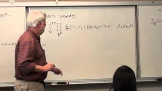Dr. Ralph Howard's Talk - Carolina Math Seminar Oct 28, 2011
