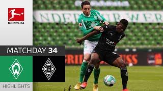 SV Werder Bremen - Borussia M'gladbach | 2-4 | Highlights | Matchday 34 – Bundesliga 2020/21