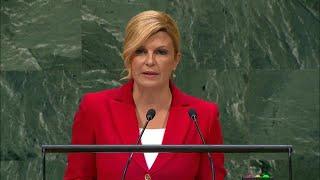 🇭🇷 Croatia - President Addresses General Debate, 73rd Session