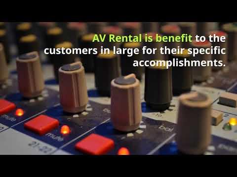 AV Rental - Audio Visual Dubai - Audio Video Rental Dubai