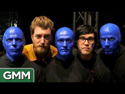 Rhett & Link Join Blue Man Group