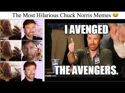 The Most Hilarious Chuck Norris Memes