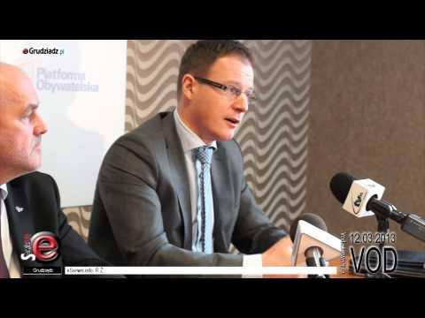 Konferencja prasowa - Przyszłość WZU w Grudziądzu