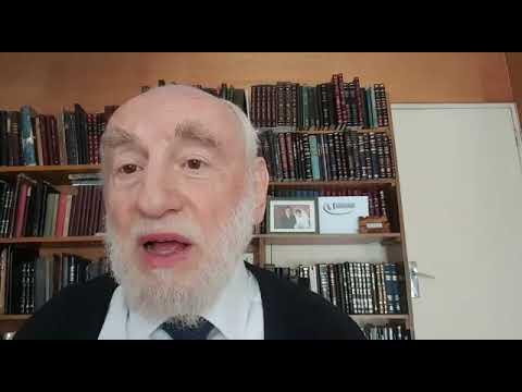 Grand Rabbin de Paris Michel Gugenheim   Paracha Behar Behoukotaï