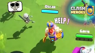 CLASH HEROES - ( Meme Edition ) | New Supercell Game !
