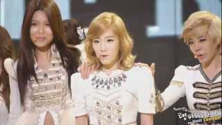 Taeyeon and the screaming Sones