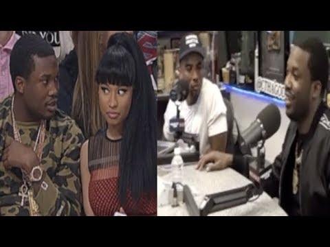 "Meek Mill Calls Out Nicki Minaj On ""The Breakfast Club""+Nicki and"