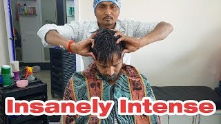 Insanely Intense Head Massage by The Pain Killer