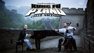 Kung Fu Piano: Cello Ascends - ThePianoGuys